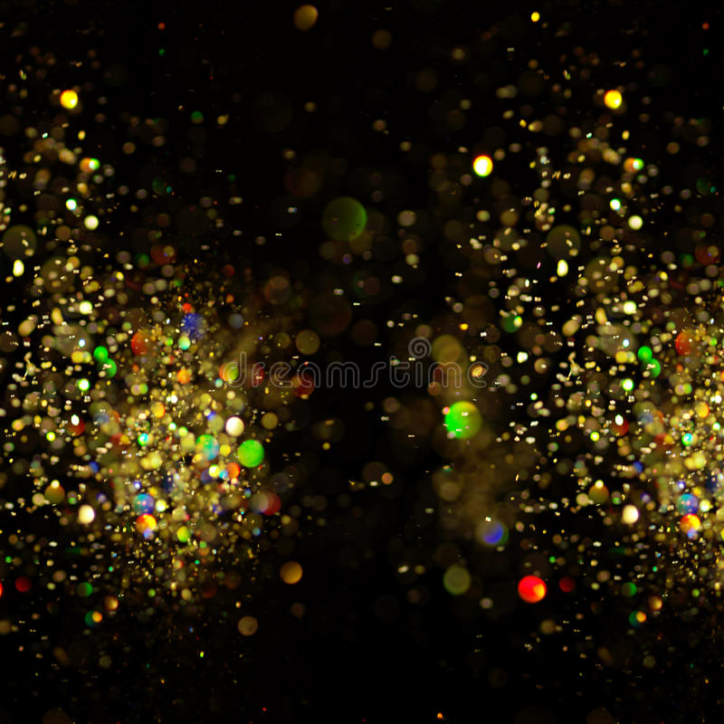 Christmas background. Festive abstract background with bokeh defocused. Lights and stars royalty free stock images