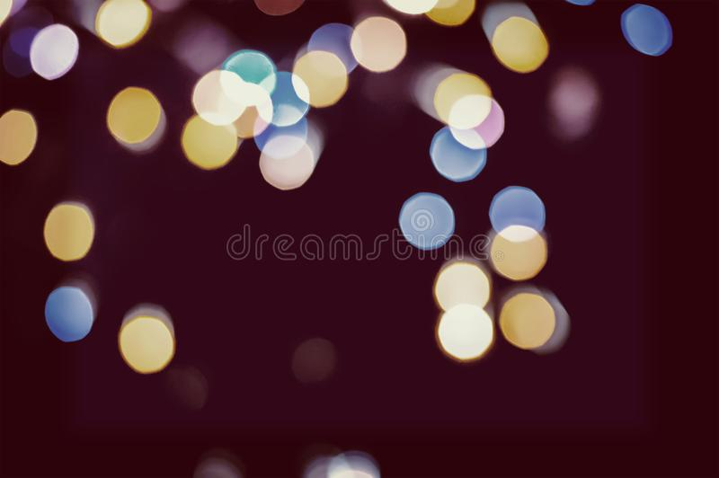 Christmas background. Festive abstract holidays background royalty free stock photos