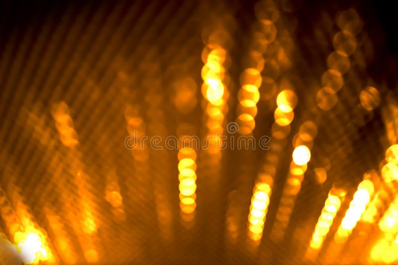 Christmas background. Festive xmas abstract background with bokeh defocused lights and stars stock photo