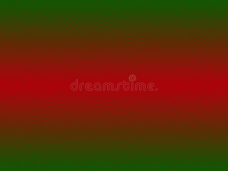 Christmas background, green and red abstract background with gradient, design for christmas, desktop, wallpaper or website design stock illustration
