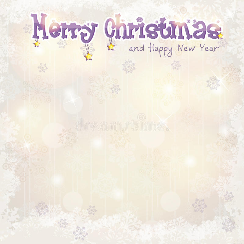 Christmas background for greeting cards and New Year royalty free illustration