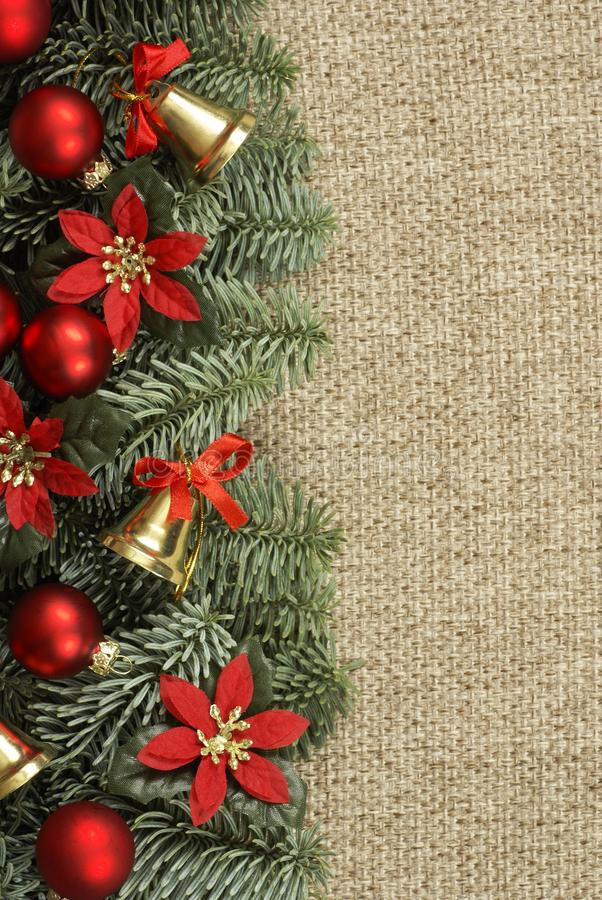 Download Christmas Background Stock Photo Image Of Vertical Poinsettia