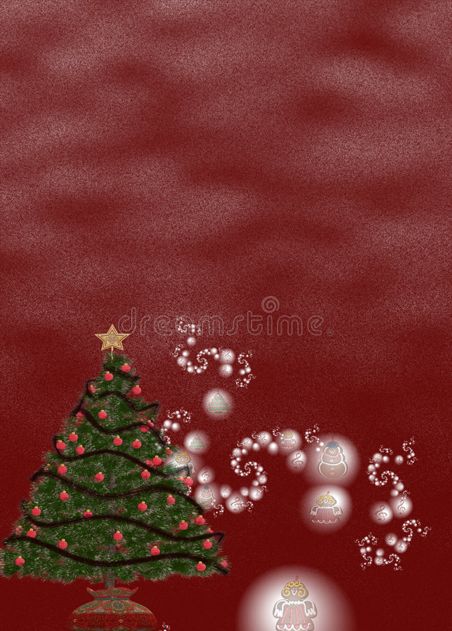 Download Christmas Background II stock illustration. Image of image - 1424456