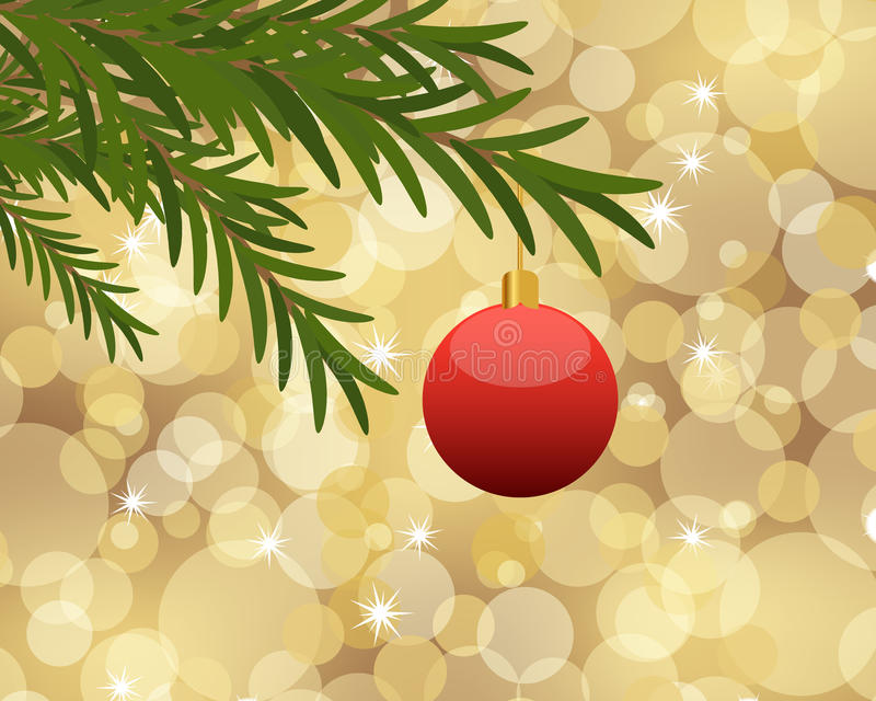 Download Christmas background stock vector. Image of festive, decorate - 33240641