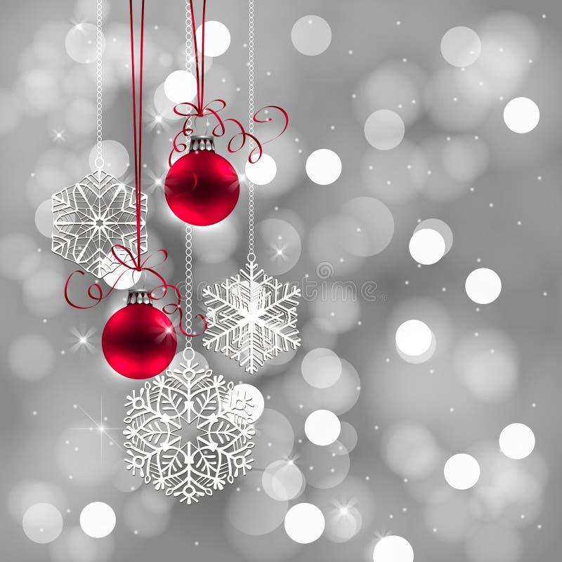 Falling Snow Christmas Lights