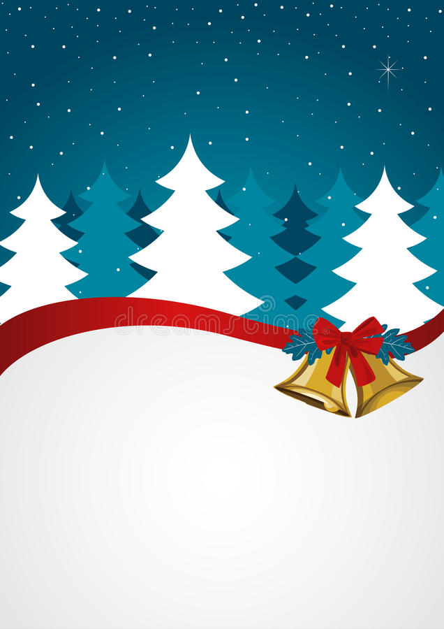 Christmas Background Seasons Greetings royalty free illustration