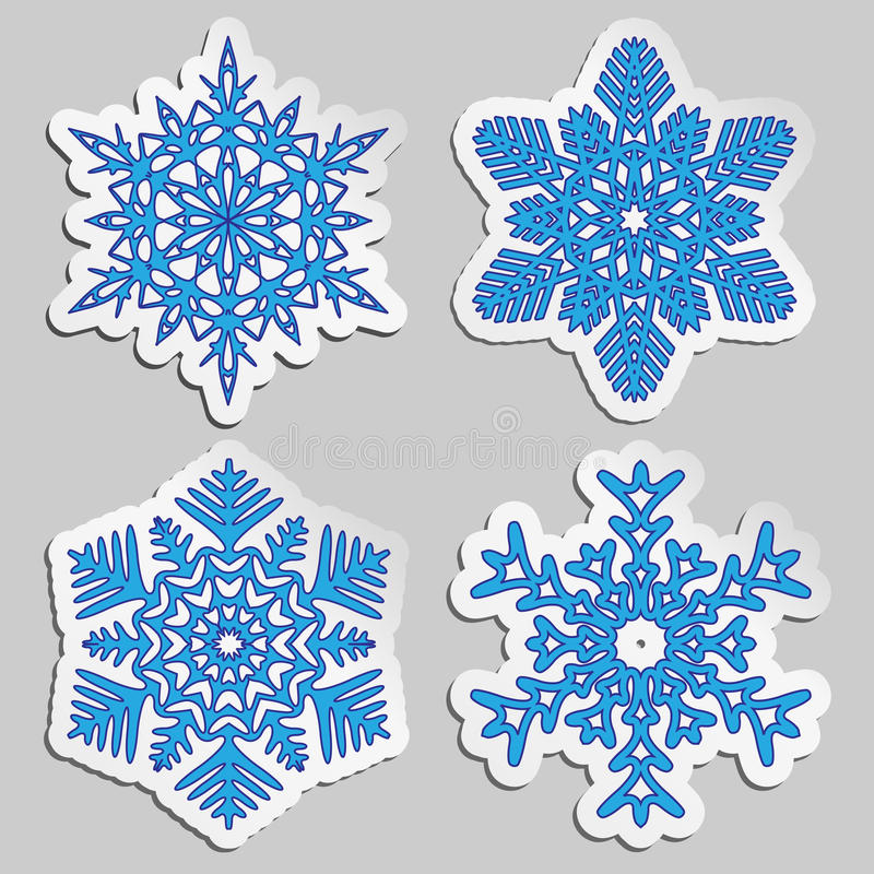 Free Christmas Background. Snowflakes. Royalty Free Stock Photography - 27711377