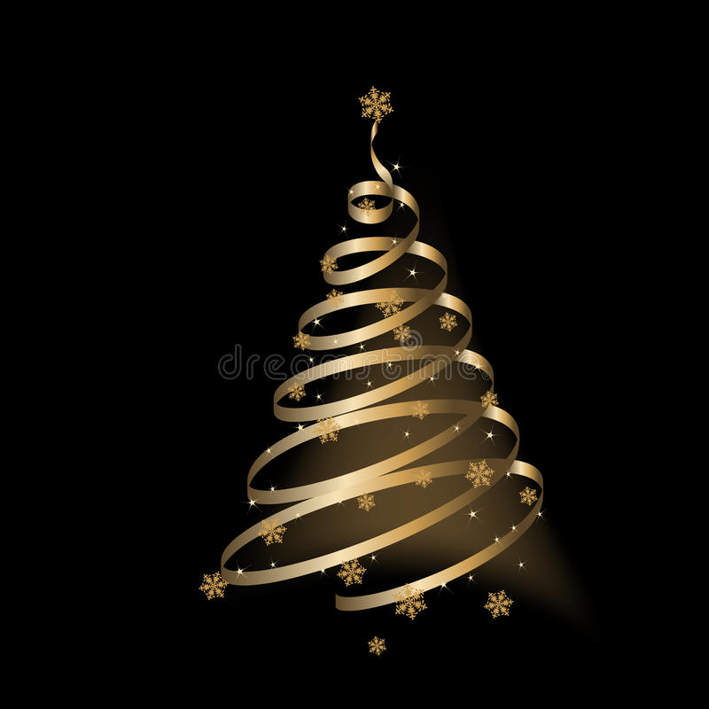 Download Christmas Background, Tree - Illustration Stock Photo - Image: 12005490