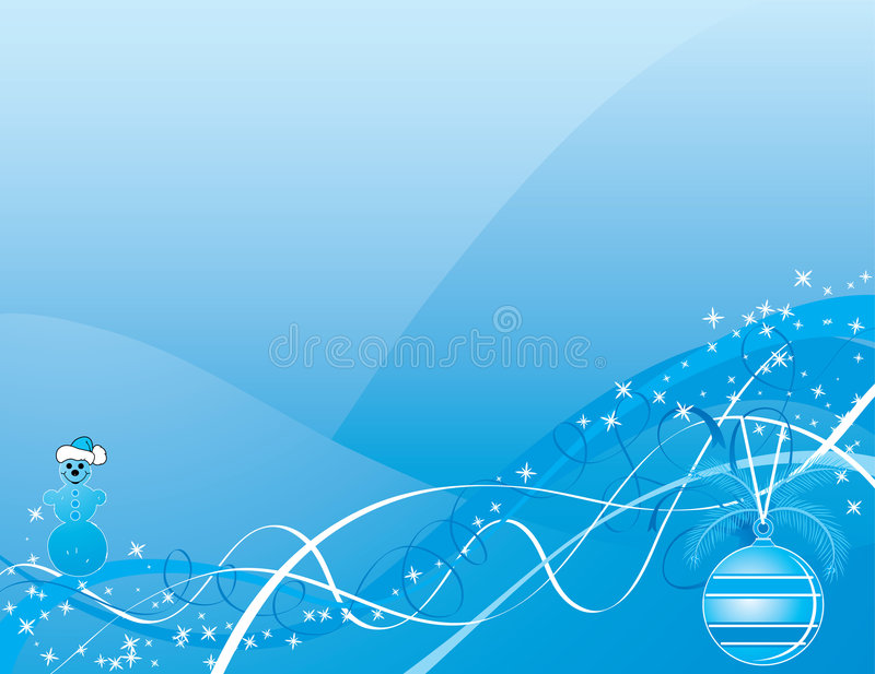 Christmas background, vector royalty free illustration