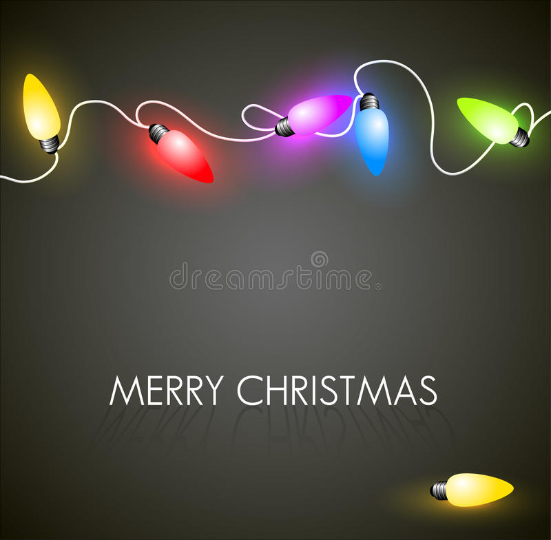 Free Christmas Background With Colorful Lights Royalty Free Stock Images - 22210949