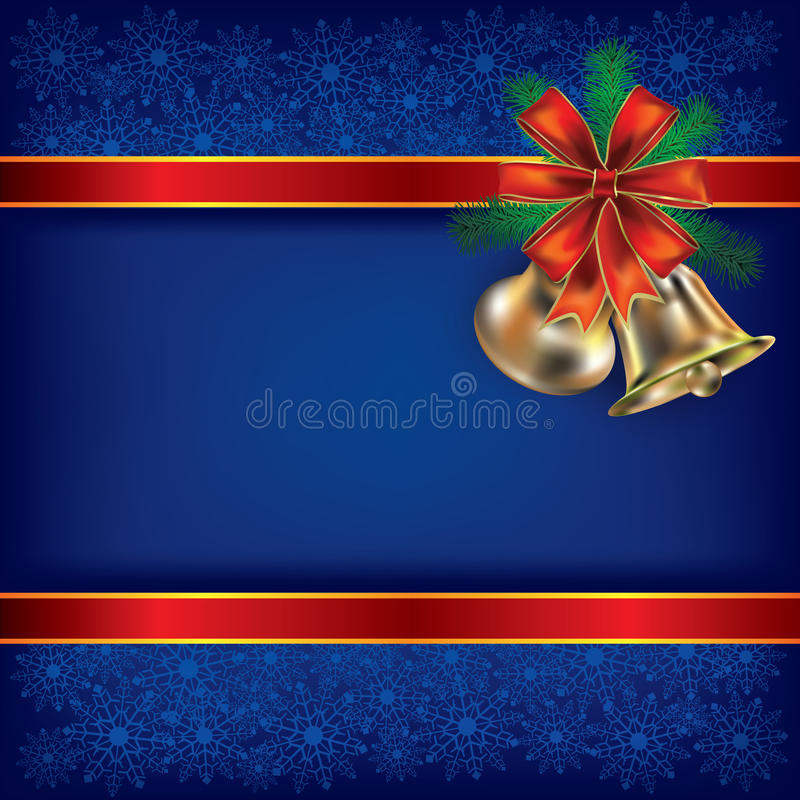 Free Christmas Background With Handbells Stock Photos - 21060083