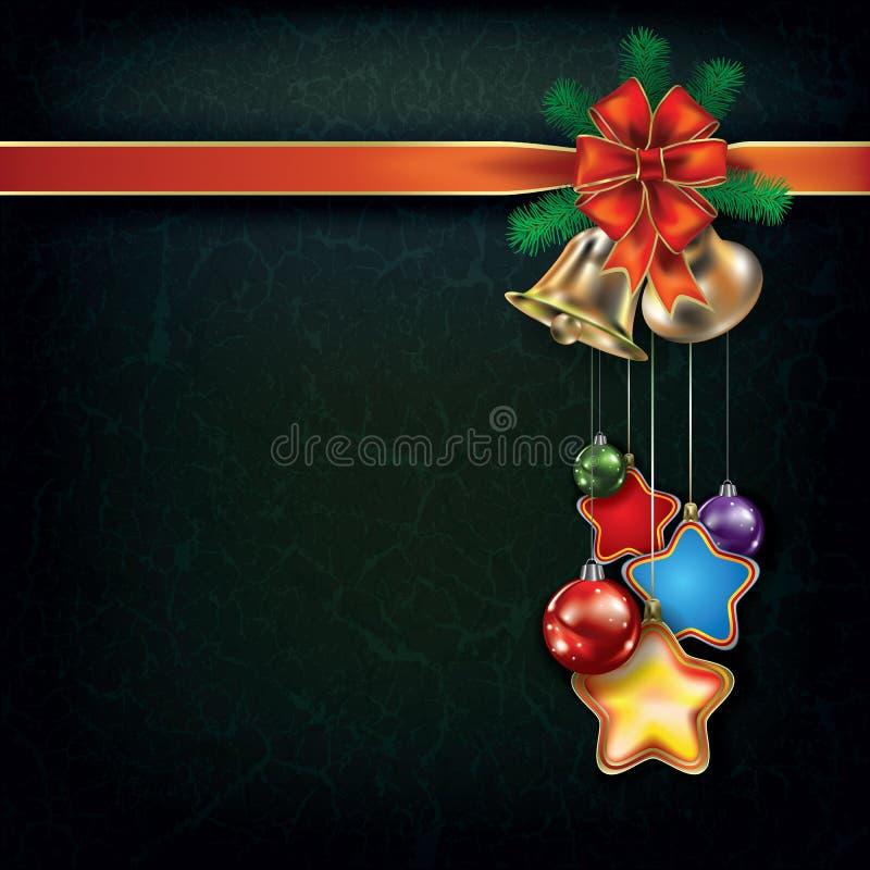 Free Christmas Background With Handbells Stock Photo - 26767270
