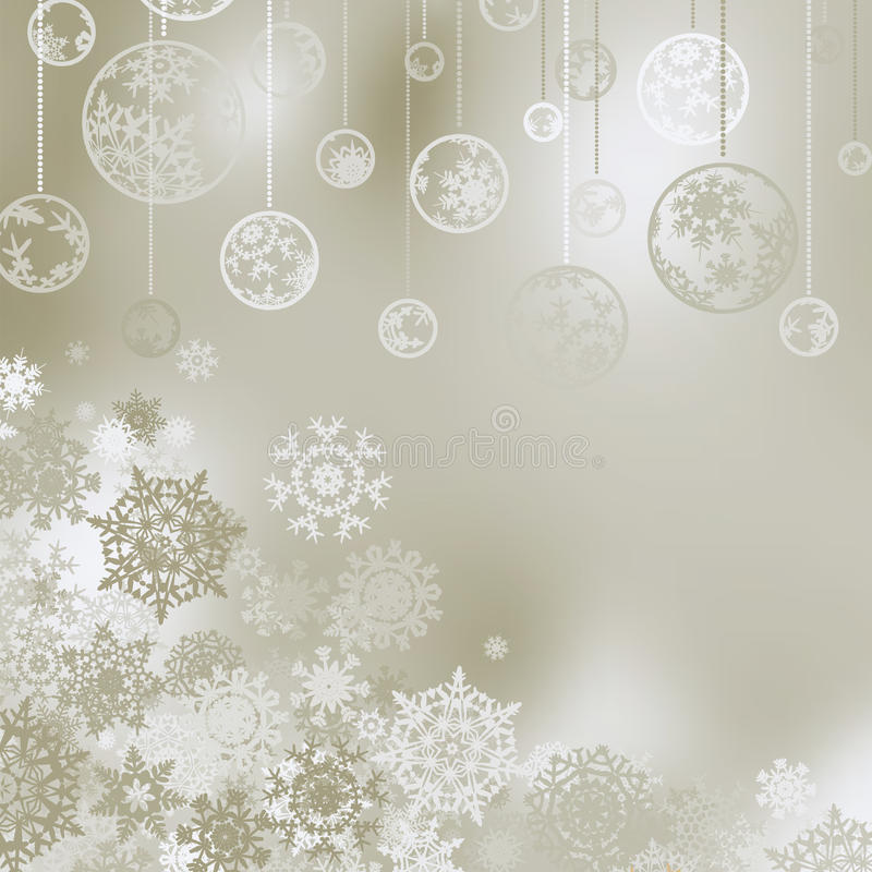 Free Christmas Background With Snowflakes. EPS 8 Royalty Free Stock Image - 17261756
