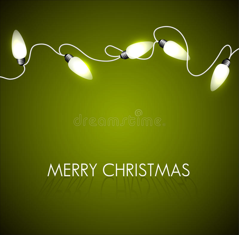 Free Christmas Background With White Lights Stock Photos - 22105923