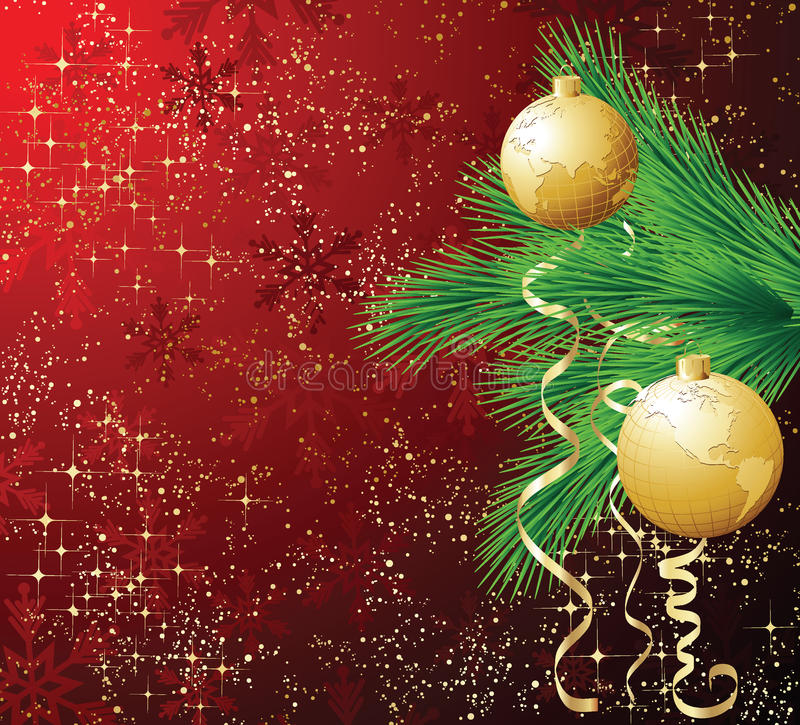 Download Christmas backgrounds stock vector. Illustration of gold - 16400377