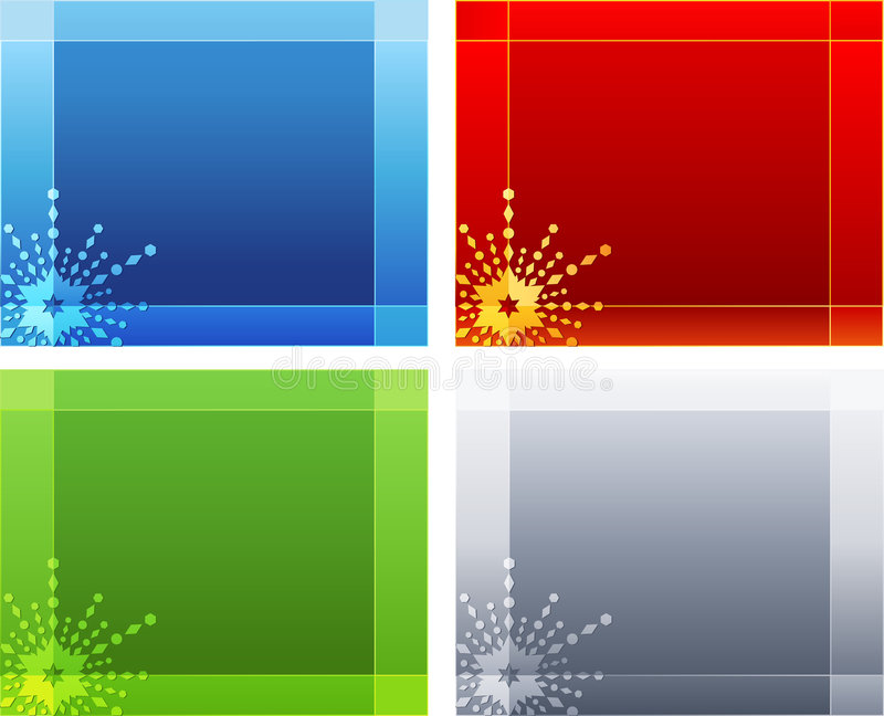 Christmas Backgrounds Collection Royalty Free Stock Image