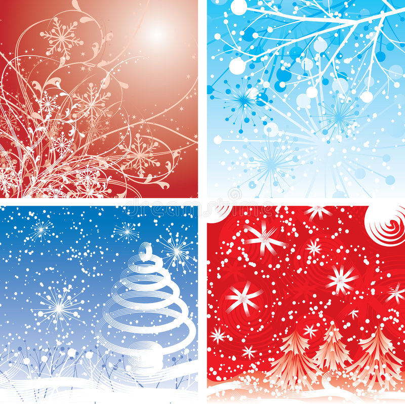 Download Christmas Backgrounds, Vector Stock Vector - Image: 3734133