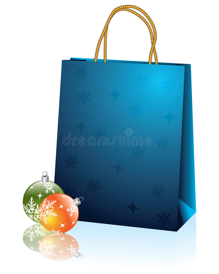 Free Christmas Bag 2 Royalty Free Stock Image - 13002576