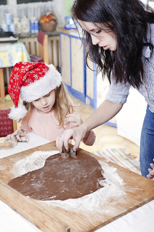Download Christmas baking stock image. Image of holiday, decorated - 27252039