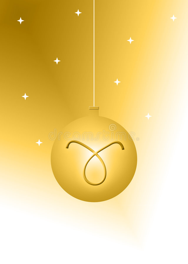 Download Christmas ball stock illustration. Illustration of hanging - 1160338