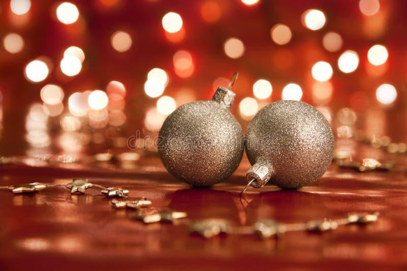 Download Christmas ball. stock photo. Image of lights, nobody - 14855518