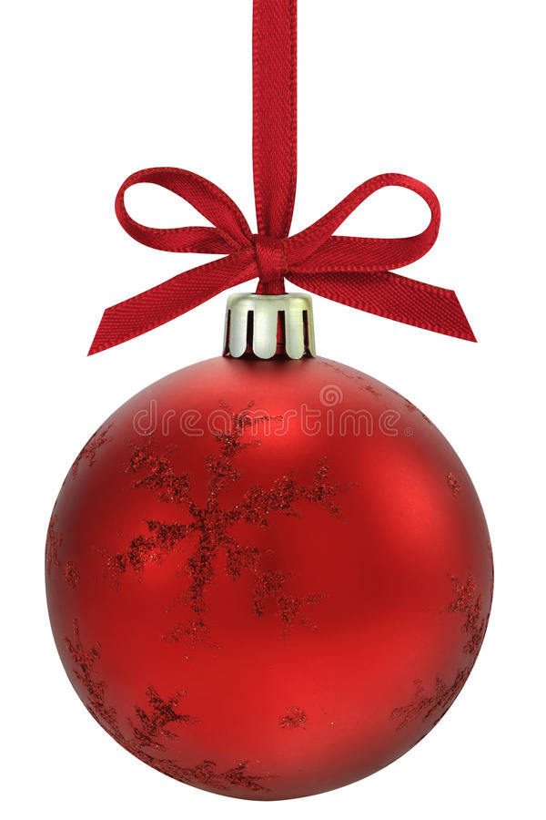 Free Christmas Ball. Royalty Free Stock Photo - 17106475