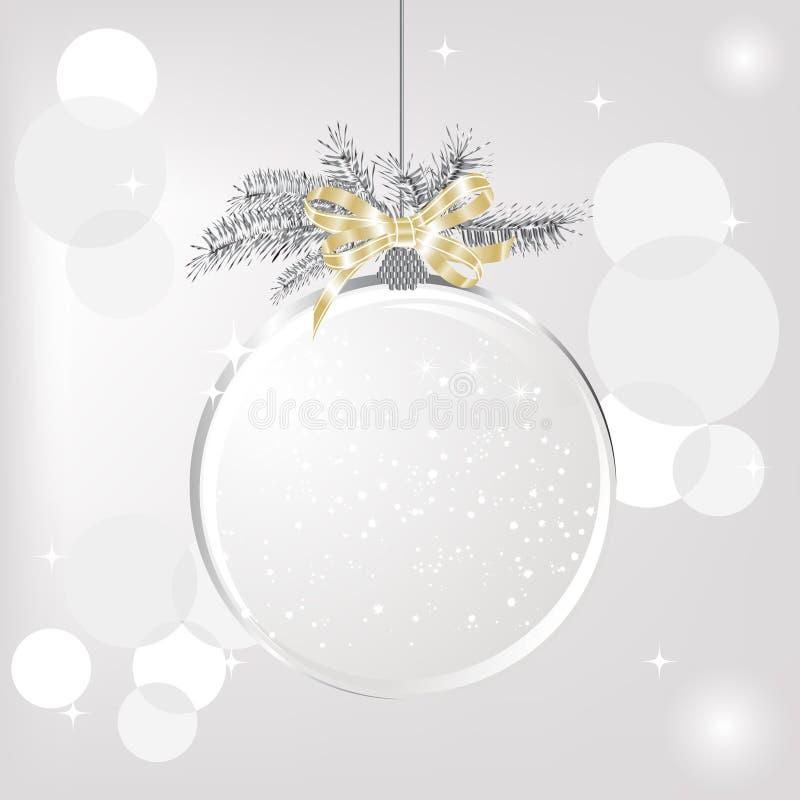 Download Christmas ball stock vector. Illustration of frame, snowflake - 26768591