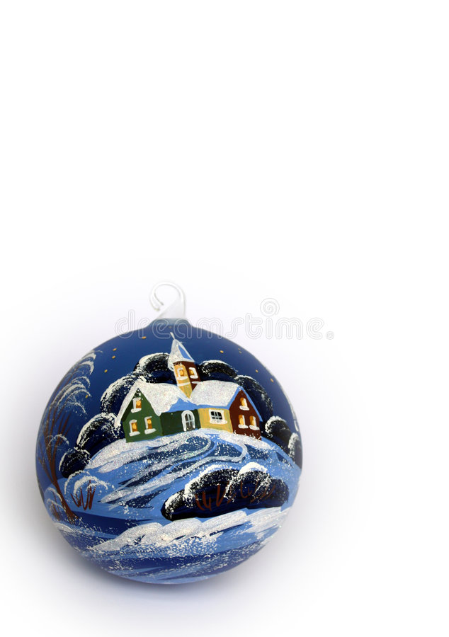 Download Christmas ball stock image. Image of xmas, card, background - 6435277