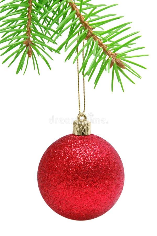 Christmas ball stock images
