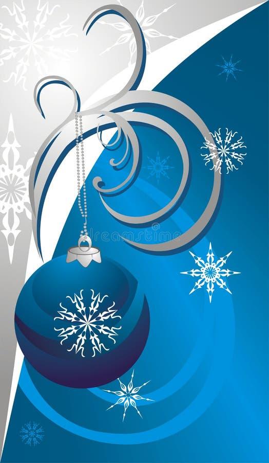 Free Christmas Ball And Snowflakes. Card Royalty Free Stock Photos - 11497588