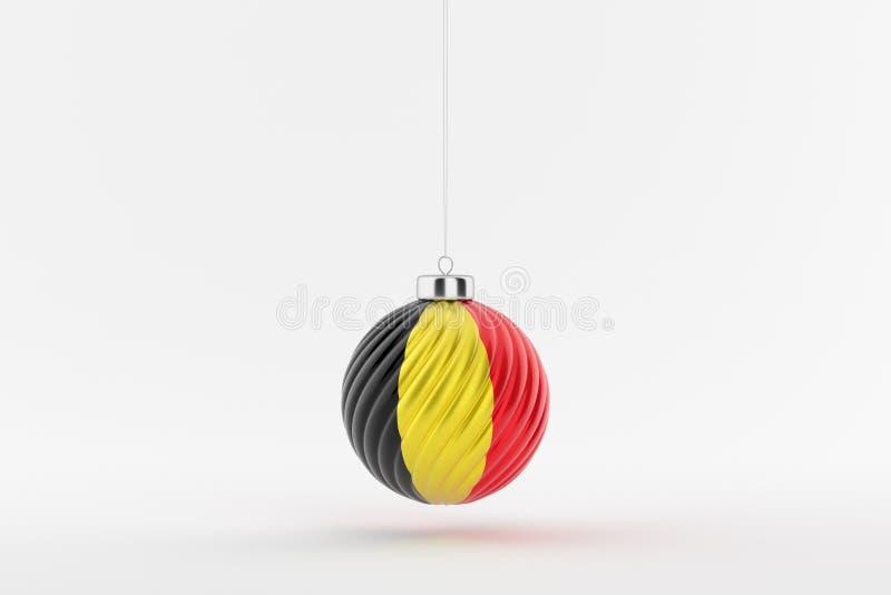 CHRISTMAS_BALL_BELGIUM_01 stockbilder