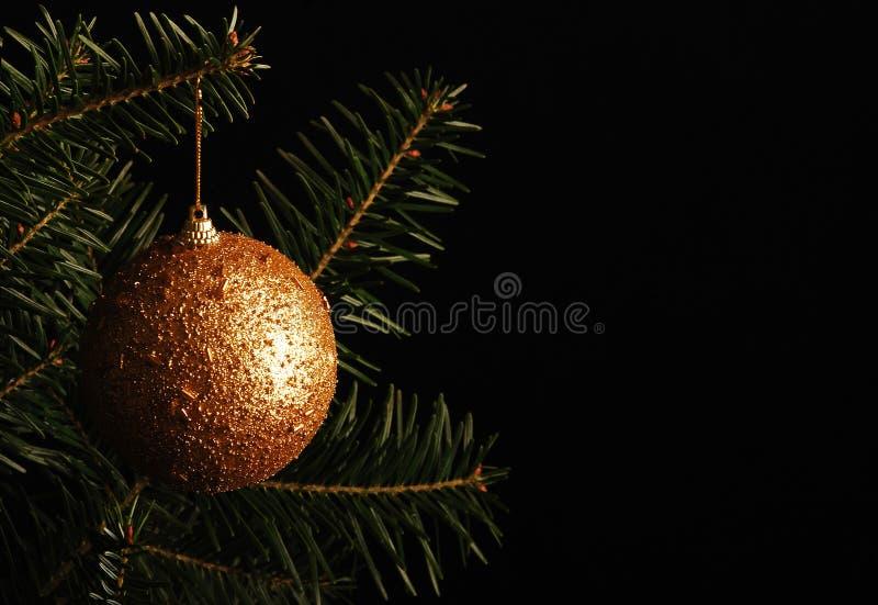 Download Christmas Ball On The Christmas Tree Stock Image - Image: 27413499