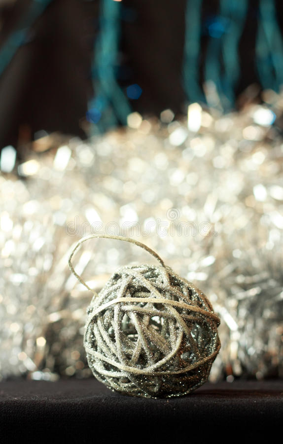 Christmas ball decoration royalty free stock photo