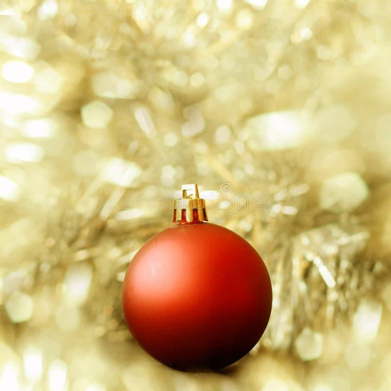 Christmas ball decoration stock image