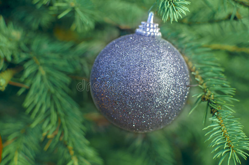 Christmas ball decoration ornament royalty free stock image