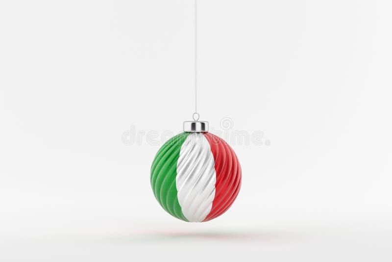 CHRISTMAS_BALL_ITALY_01 ilustracji