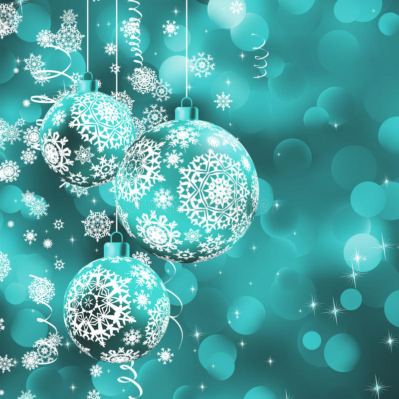 Incroyable Download Christmas Ball Over Glow Light Bokeh. Stock Vector   Illustration  Of Ivory, Gray