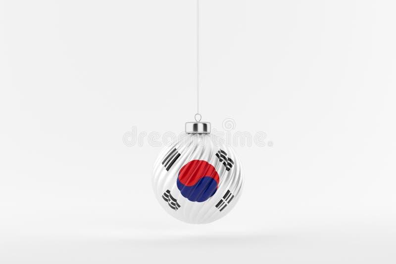 CHRISTMAS_BALL_SOUTH_KOREA_01 stockfotografie