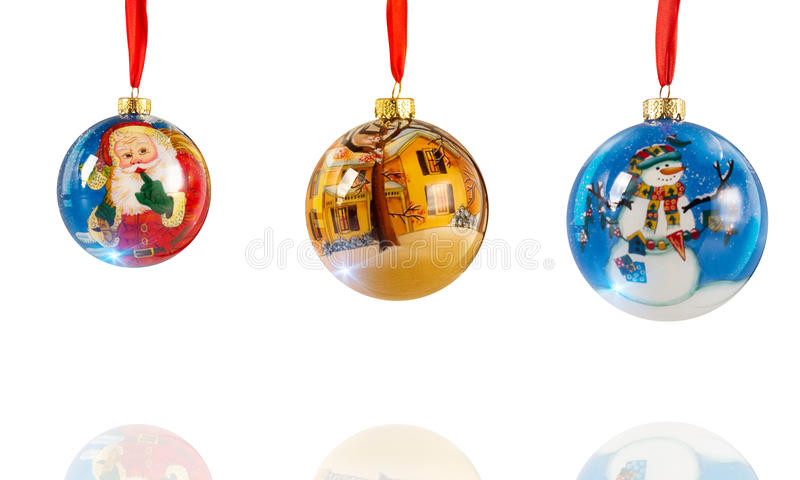 Download Christmas balls stock illustration. Image of composition - 11076923