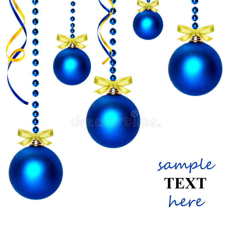 Download Christmas balls stock photo. Image of background, decorative - 11538664