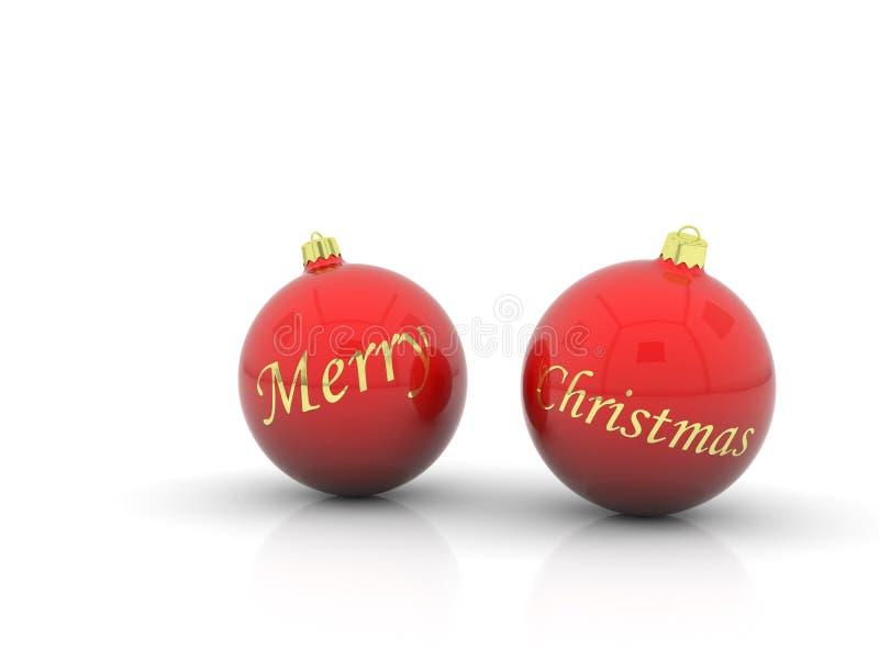 Download Christmas balls stock illustration. Image of celebration - 12162048