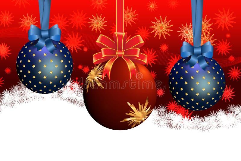Christmas Balls stock illustration