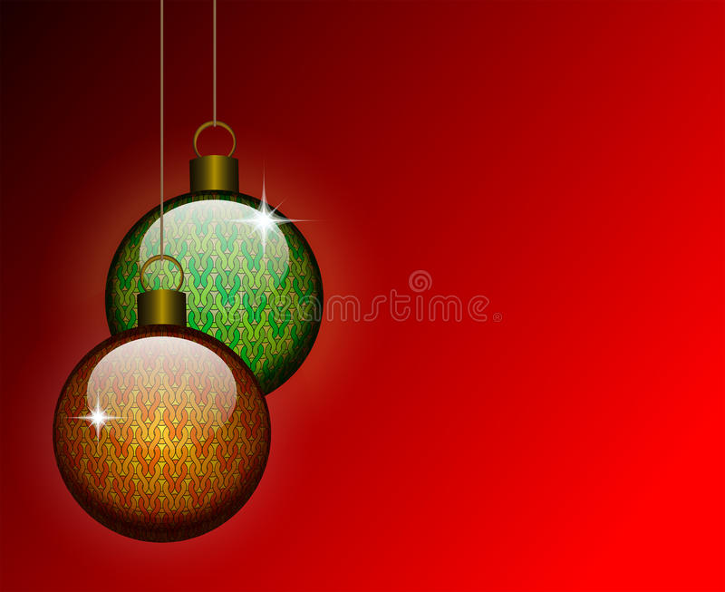Download Christmas balls stock vector. Image of celebration, illustration - 21799228