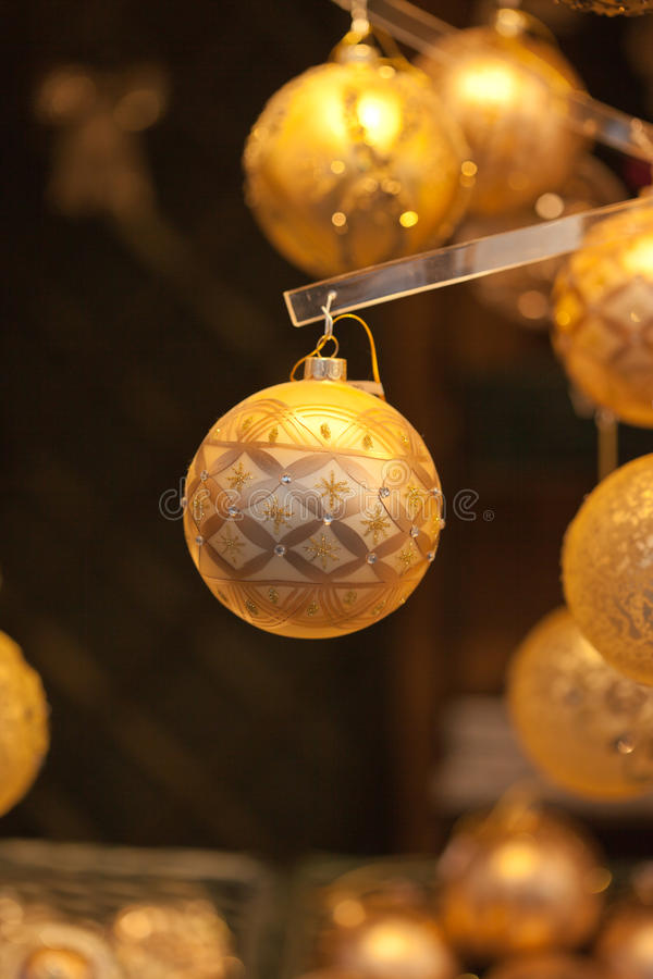 Download Christmas balls stock photo. Image of gold, carnival - 22140524