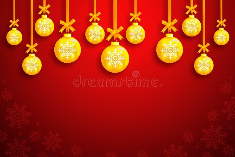 Download Christmas balls stock illustration. Illustration of bright - 22512950