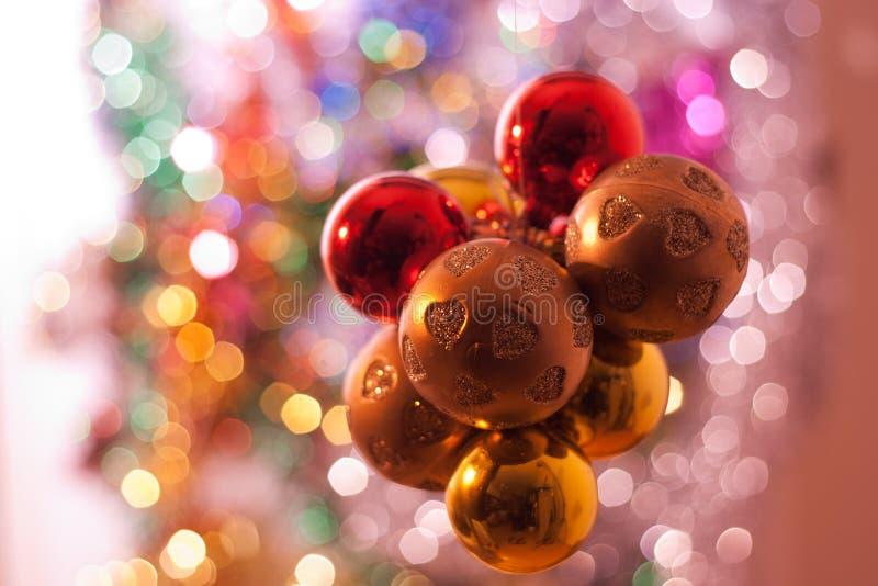 Download Christmas balls stock photo. Image of seasonal, gold - 27355926