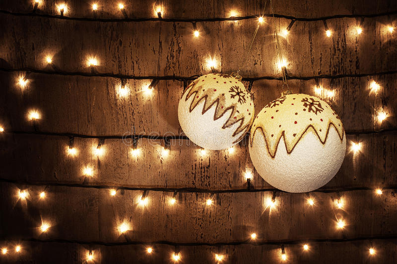 Download Christmas balls stock image. Image of dirty, glow, design - 27987533