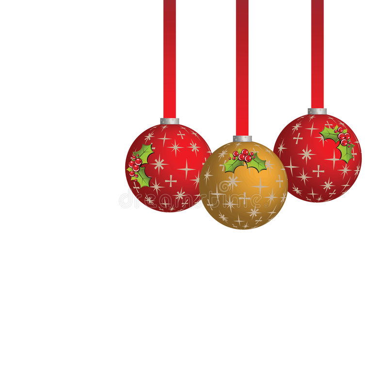 Download Christmas Balls stock vector. Image of invite, celebration - 3536470