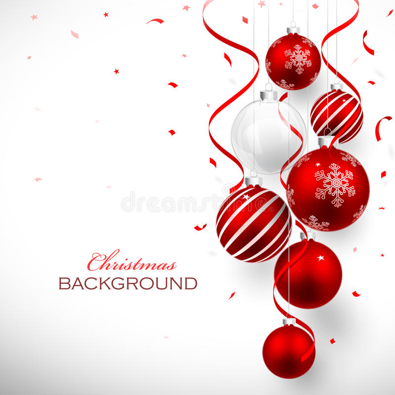 Free Christmas Balls Royalty Free Stock Photos - 35525838