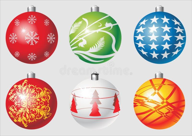 Christmas balls.cdr stock illustration